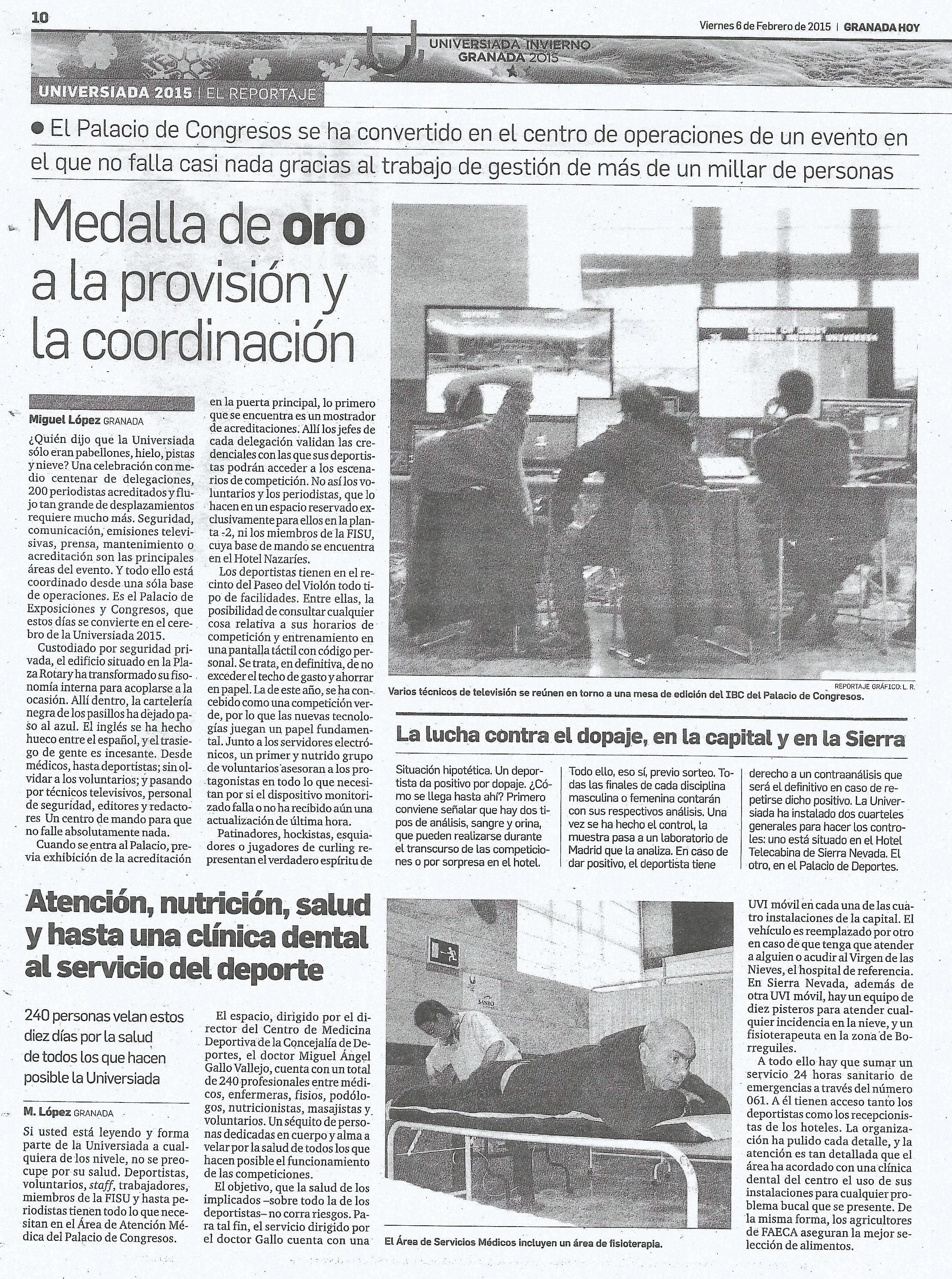 Granada Hoy 6 de febrero de 2015
