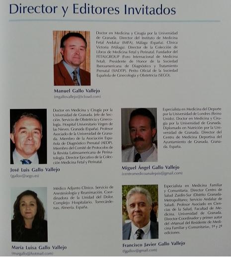 Director y editores invitados