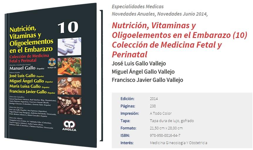 Portada Libro Nutrición