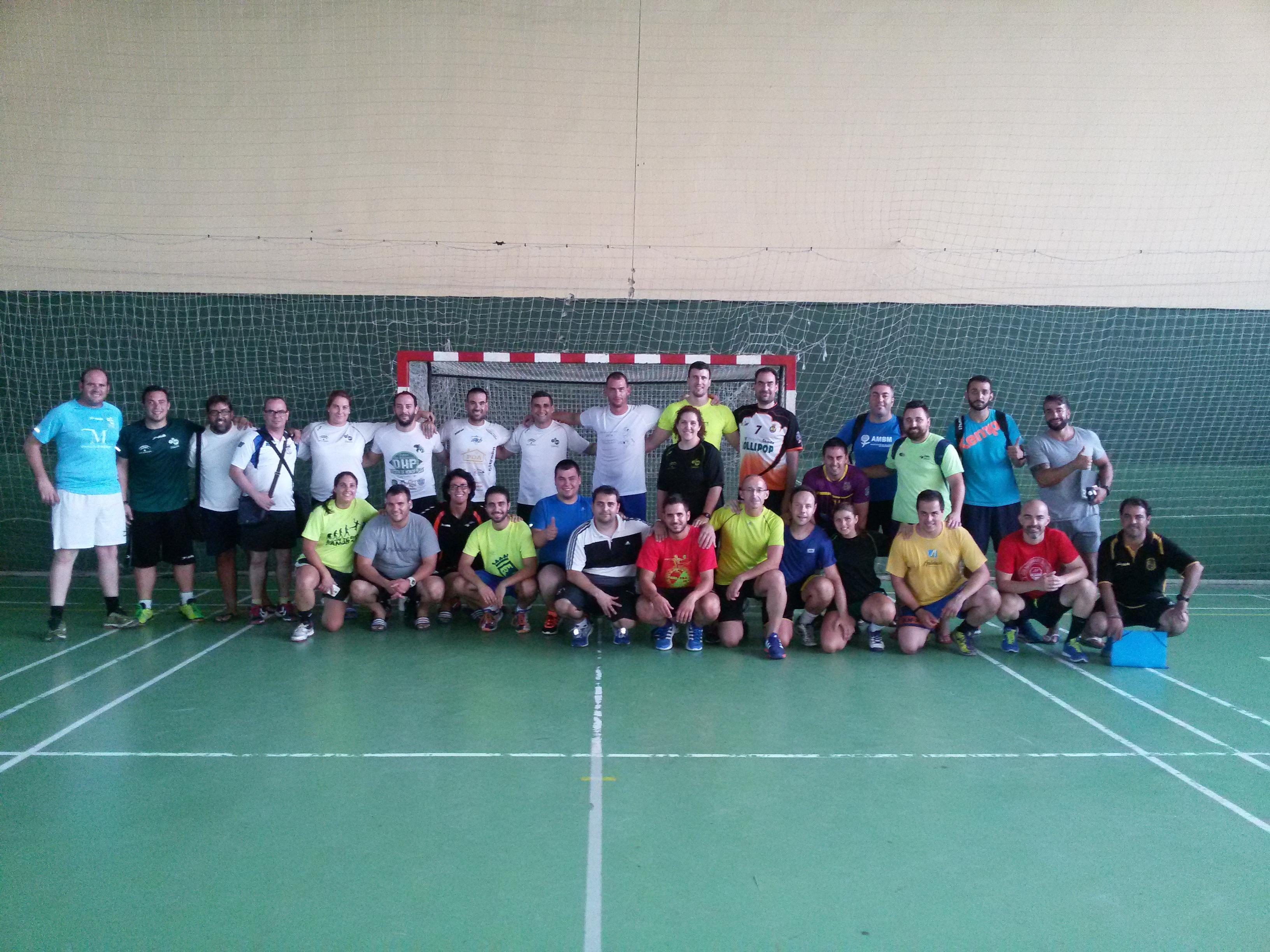 Alumnado Curso Nacional de Entrenadores de Balonmano junio y julio 2015 - junio y julio 2016