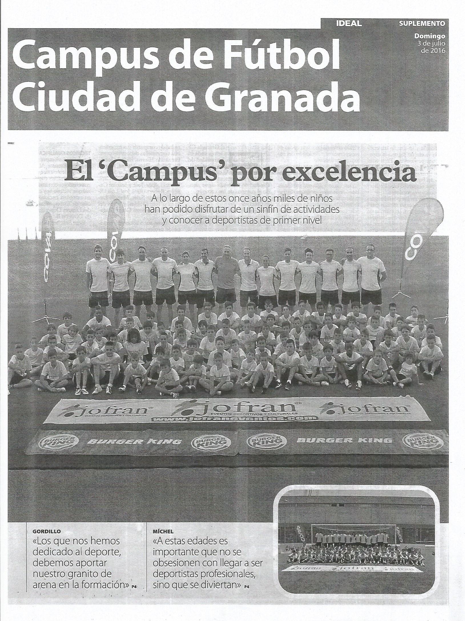 Campus de Fútbol Ciudad de Granada 1