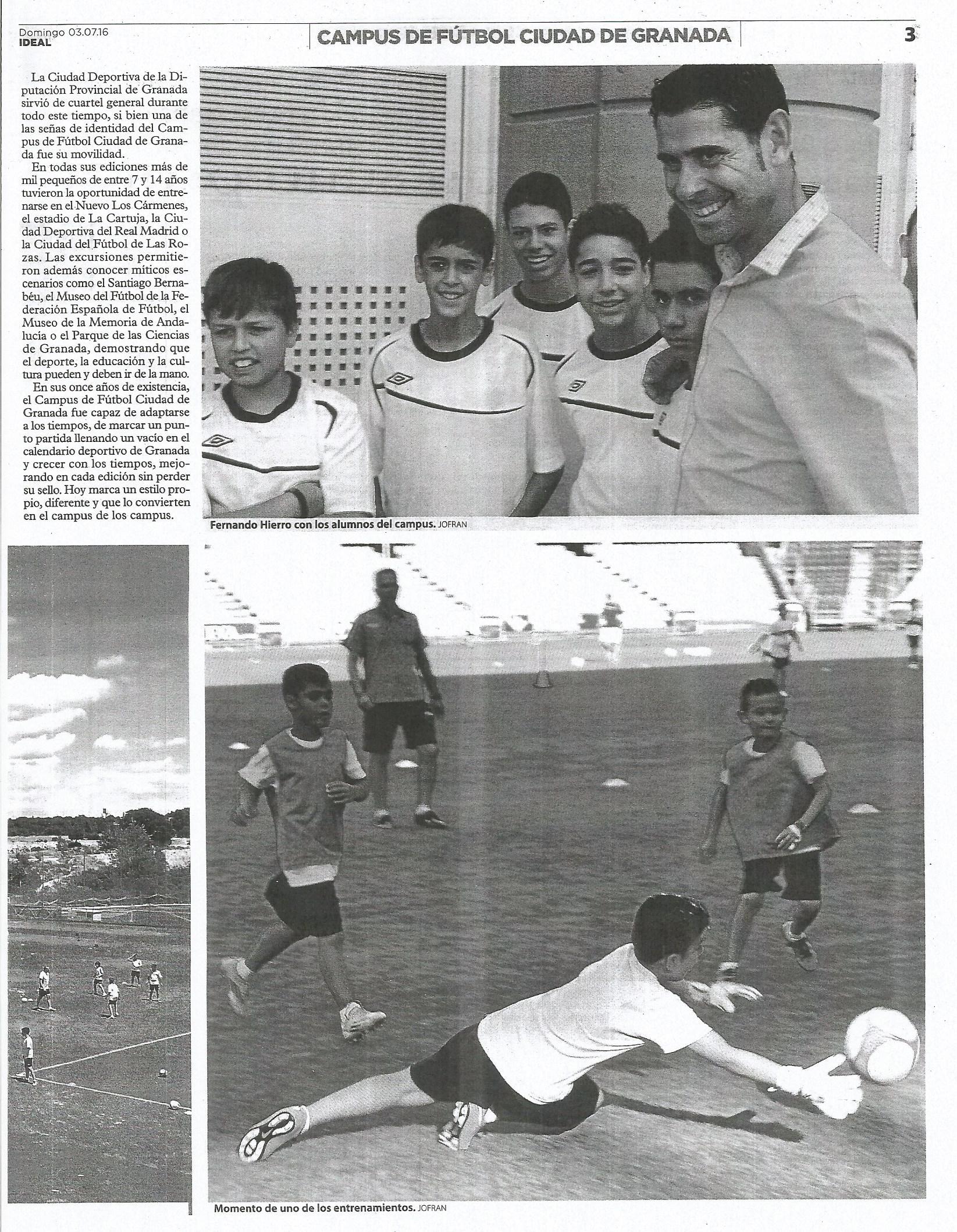 Campus de Fútbol Ciudad de Granada 3