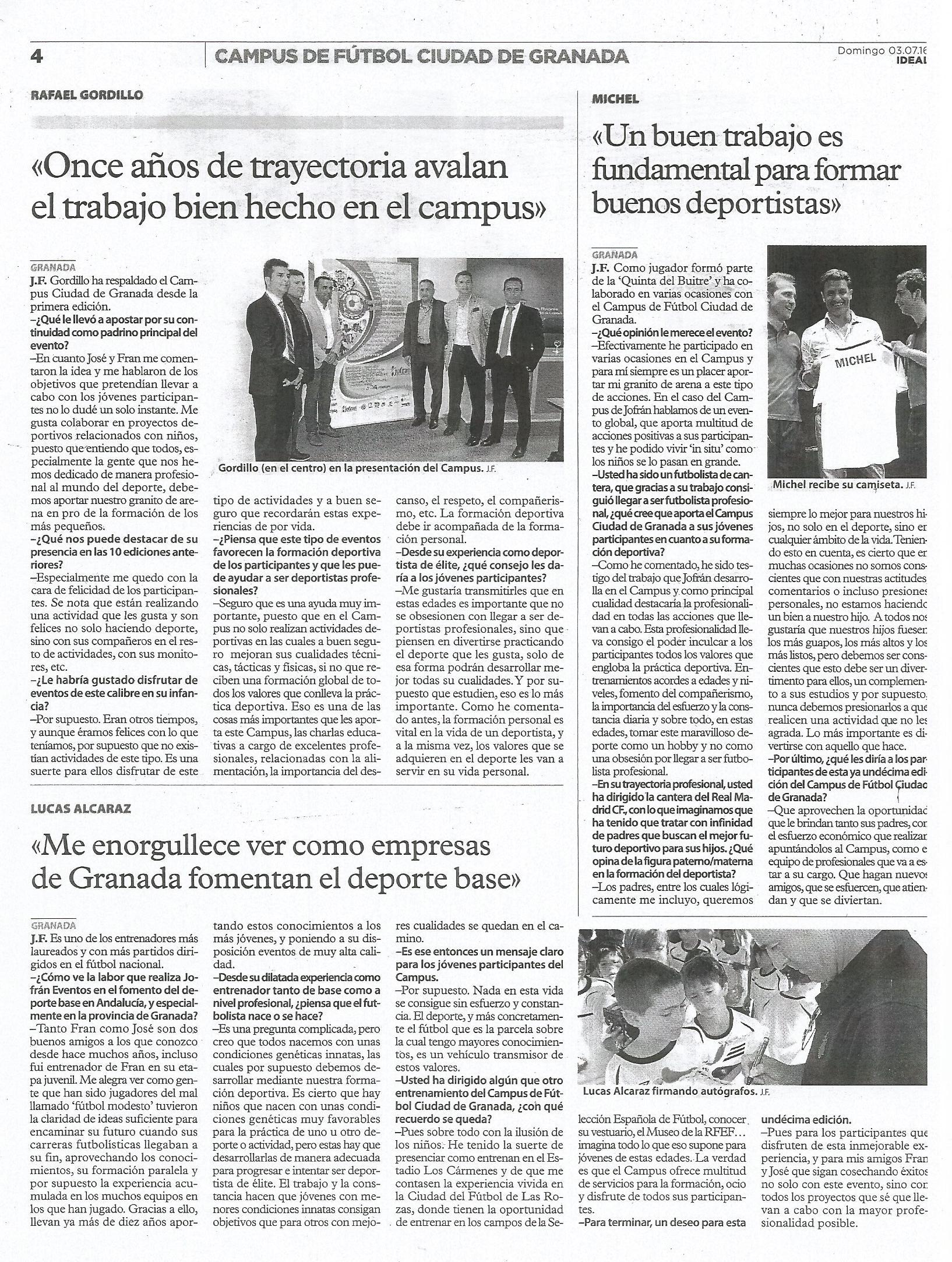Campus de Fútbol Ciudad de Granada 4