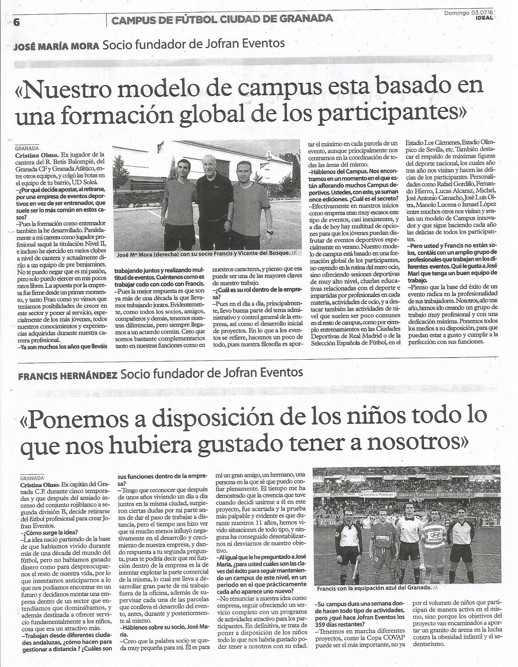 Campus de Fútbol Ciudad de Granada 5